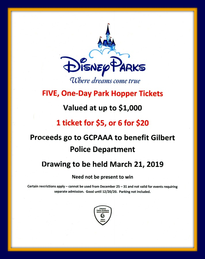 GCPAAA Disneyland Flyer 2019-3